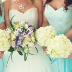 Bride And Bridesmaids Bouquets