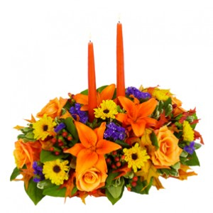 thanksgiving flower arrangment