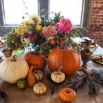 Thanksgiving Day centerpieces