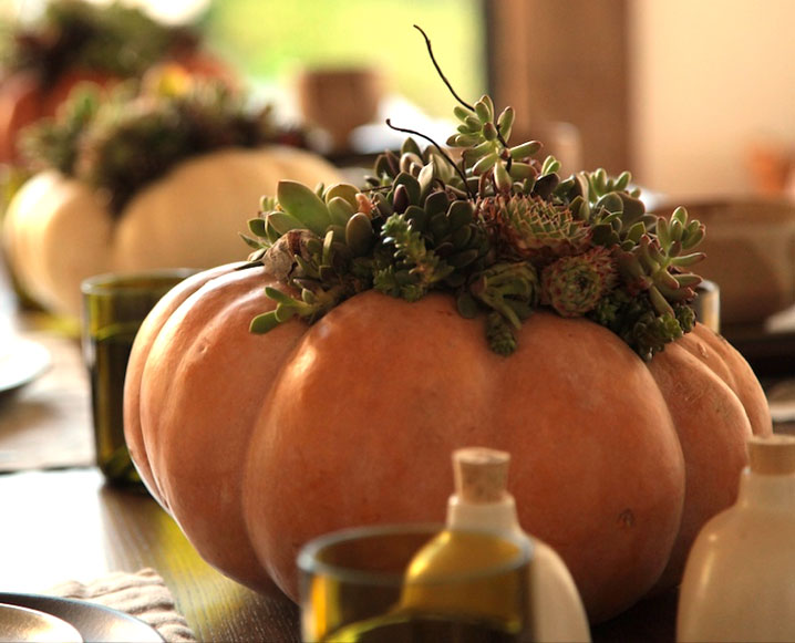Ways to use fall flowers for creative thanksgiving day