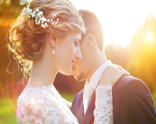 Hair Wedding Flowers