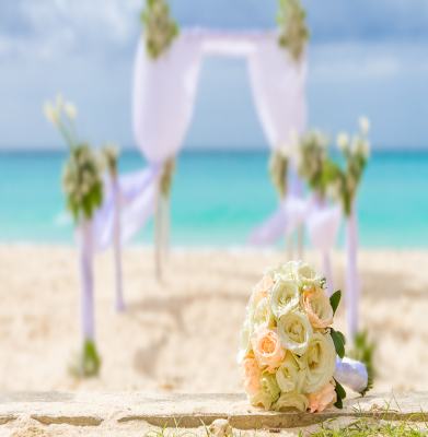Beach Wedding Flowers
