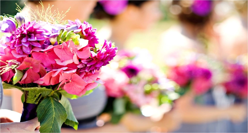 Nine Flower Tips for a Summer Wedding
