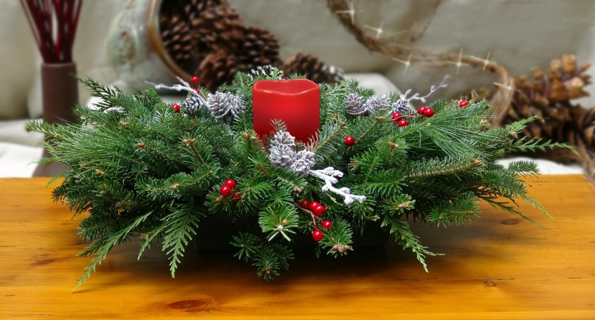 Easy and Elegant Holiday Centerpieces